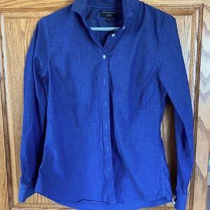 Blue Banana Republic tailored dress shirt size 12